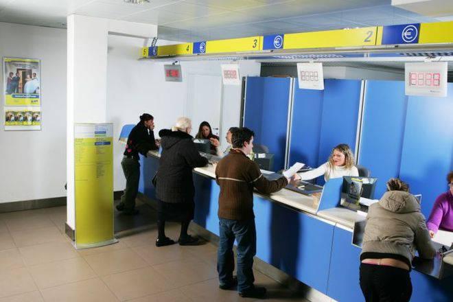 ufficio postale (foto d'archivio)