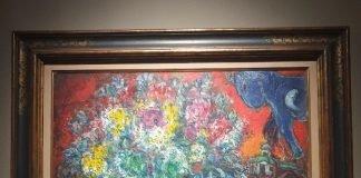 opera di Chagall in mostra