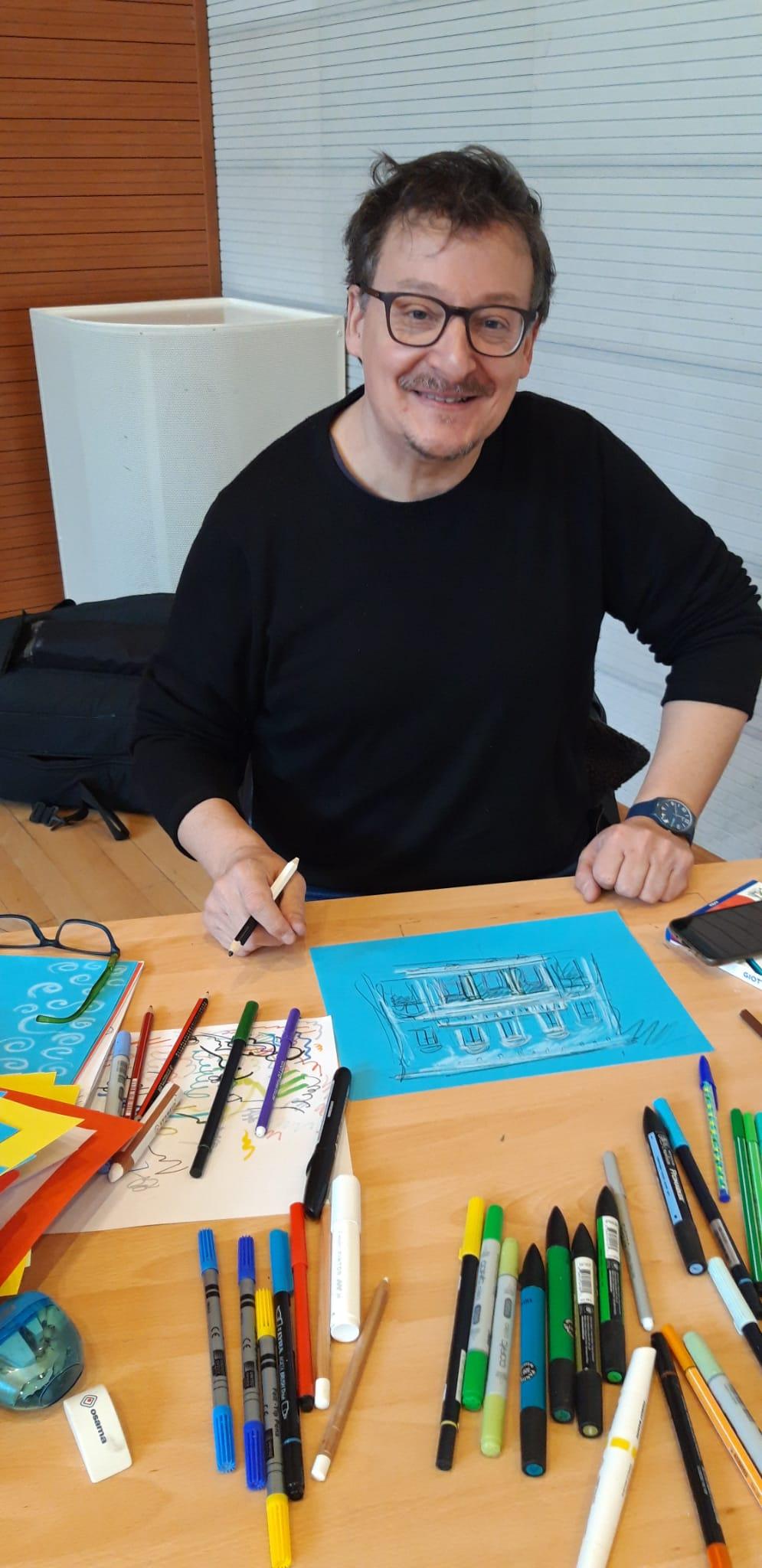 Il fumettista Alessandro Gottardo