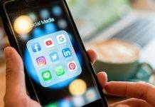 Social media smartphone