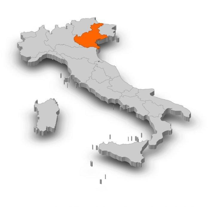 Veneto zona arancio